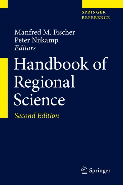 Second and Extended Edition of the Handbook of Regional Science is now officially published!