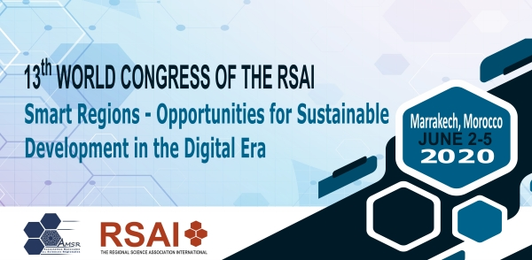 Save the Date! 2020 RSAI World Conference