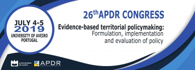 Call for Papers and Special Session Proposals | 26th APDR Congress, 4-5 July 2019, Aveiro, Portugal