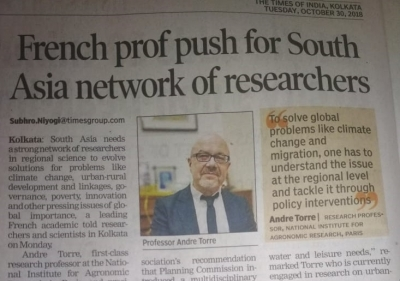 French prof push for South Asia network of researchers