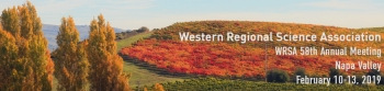 58th WRSA Conference | February 10-13, 2019, Napa, California