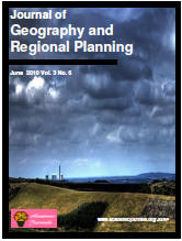journal of geography and regional planning