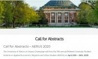 Call for Abstracts - AERUS 2020