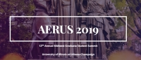 AERUS 2019 | April 13-14, 2019, University of Illinois at Urbana-Champaign, USA